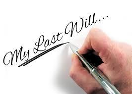 Will-valid Will- do I need a Will